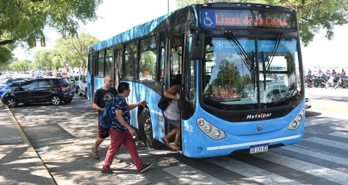 TRANSPORTE URBANO: LA LINEA DE LA COSTA VOLVIÓ EL DÍA DE LA PRIMAVERA