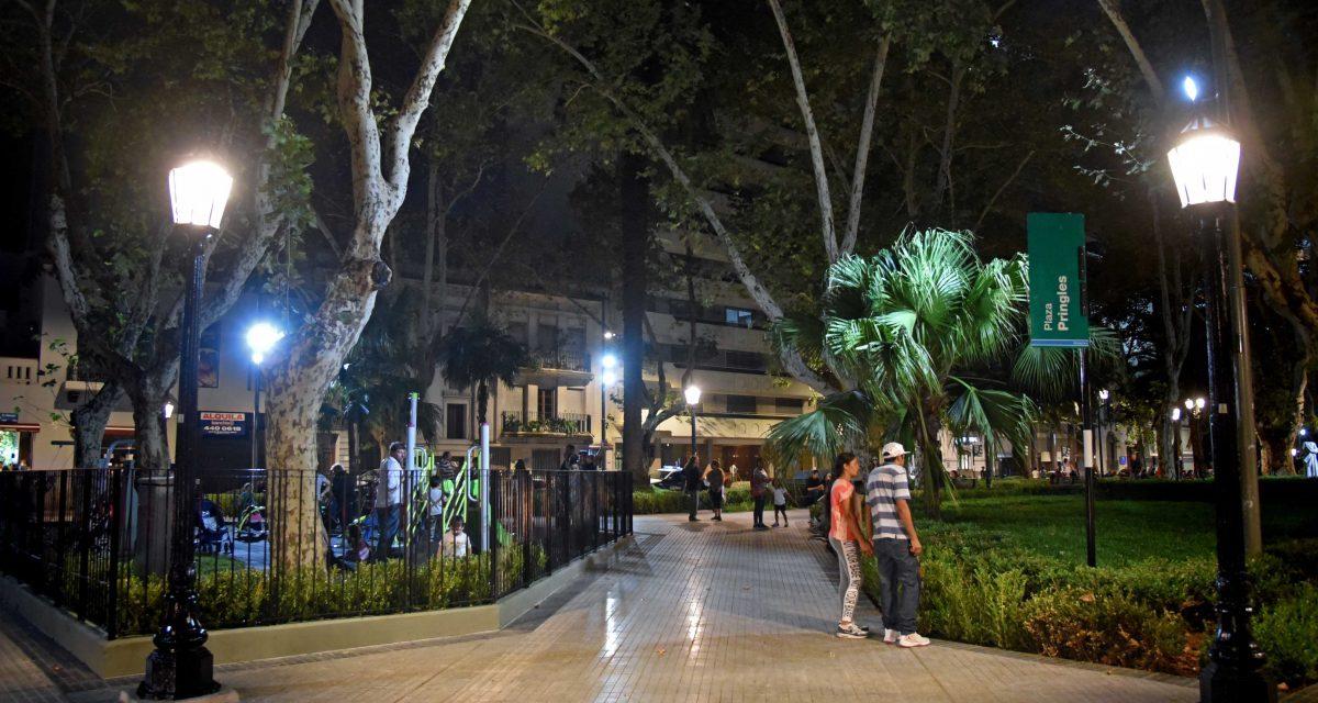 Otro sector urbano a nuevo: se inauguraron las obras de la plaza Pringles y el Paseo del Siglo