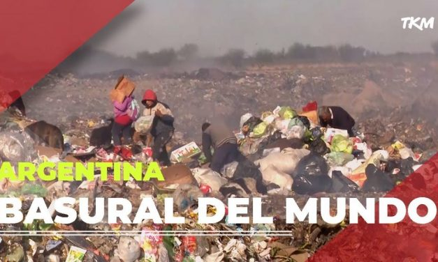 ARGENTINA BASURERO DEL MUNDO…MACRI LO HIZO