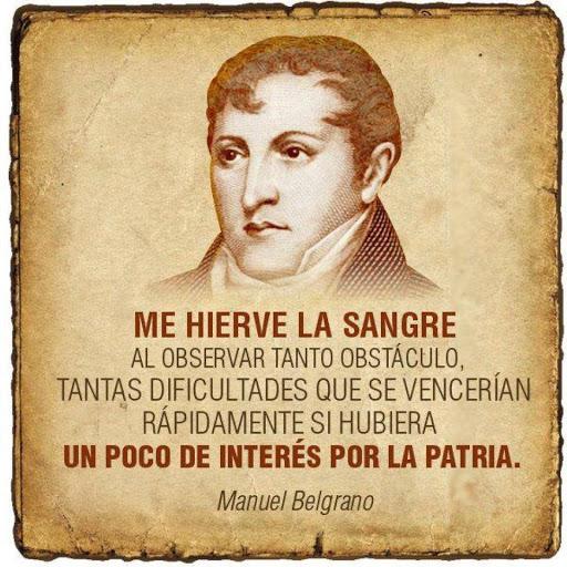 A doscientos años de la muerte de Belgrano.                         Cinco postales del revolucionario desconocido y vigente.