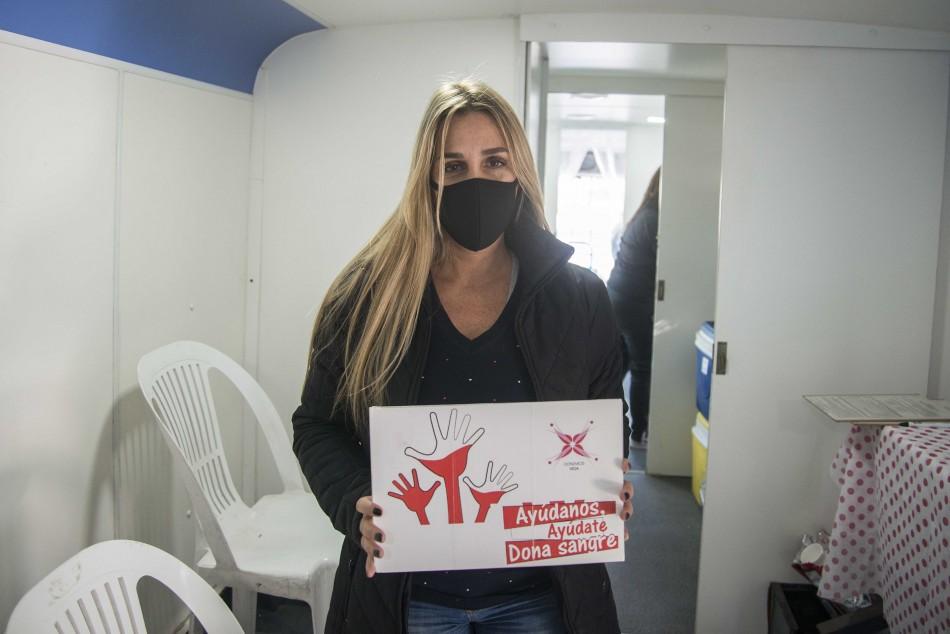 Continúa la campaña de donación de sangre en el Cemar y en los distritos