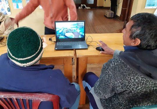 Se pusieron en marcha las Estaciones Digitales en refugios municipales