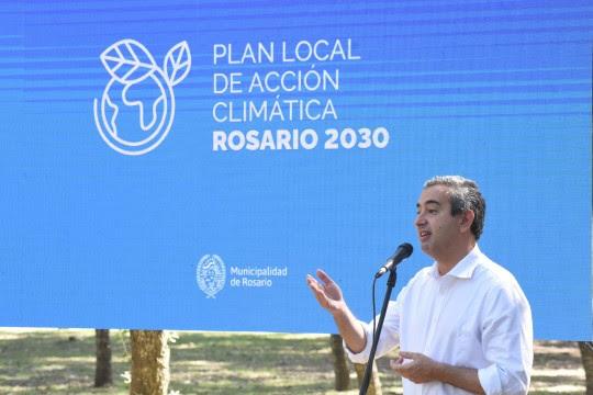 Rosario presentó su proyecto para reducir la contaminación ambiental un 22% para 2030