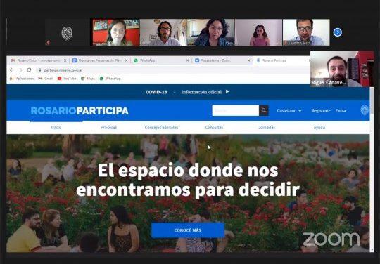 Rosario cuenta con una nueva e innovadora plataforma de participación ciudadana